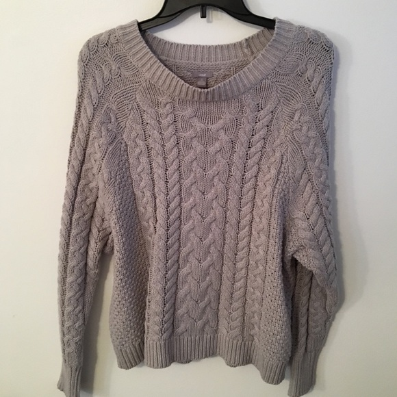 Aerie Sweaters Womens Cable Knit Sweater Poshmark